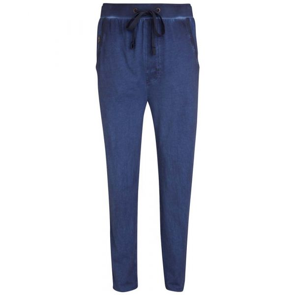 Dark Blue Heavy Jersey Cotton Lounge Pants from Jockey