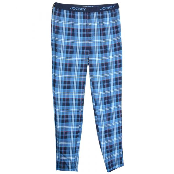 Star Blue Check Lounge Pants from Jockey