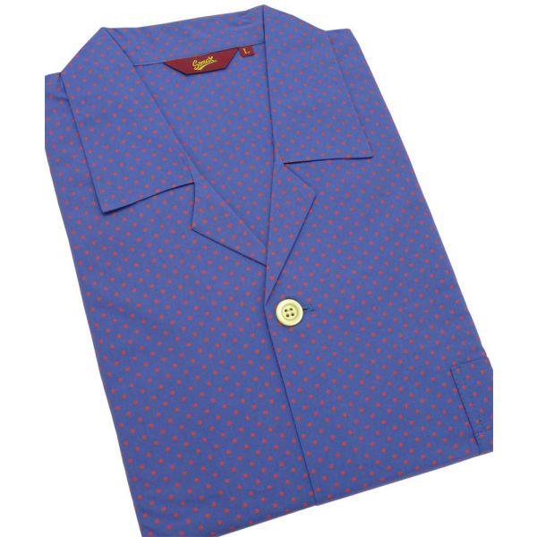 Red Spots. Cotton Elastic Waist Pyjamas from Somax