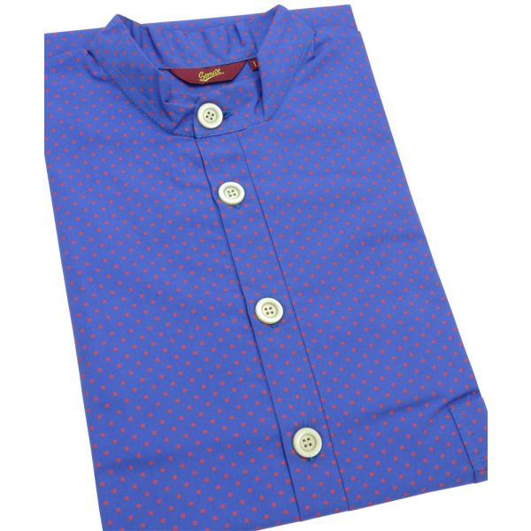 Red Spots. Cotton Over the Head Nightshirt from Somax
