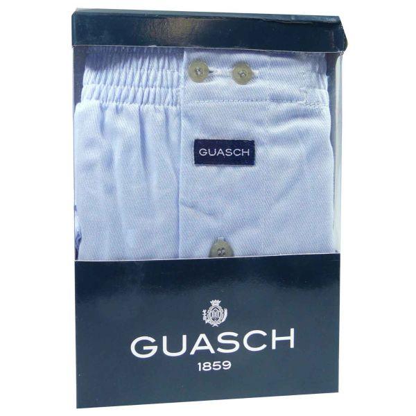 Guasch - Mens Cotton Boxer Shorts - Plain