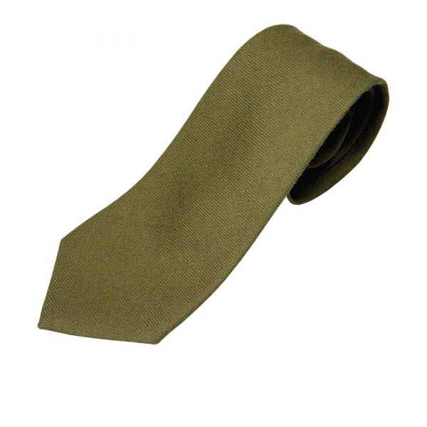 Green Wool Tie from Atkinsons