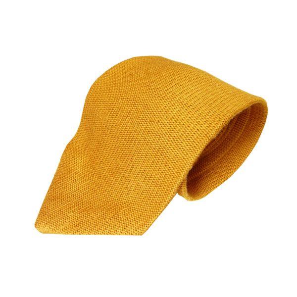 Knightsbridge Tan Knitted Wool Tie from Knightsbridge Neckwear