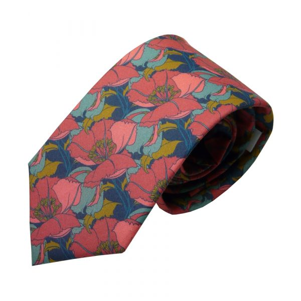 Liberty Cotton Tie - Little Eustacia Multi Floral