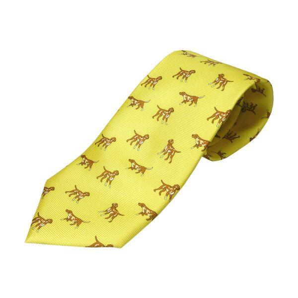 Gold Hound Tie