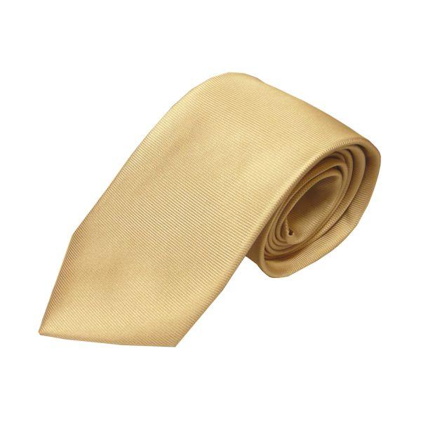 Camel Printed Silk Tie