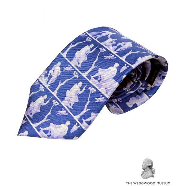 Portland Vase Silk Tie by Fox & Chave