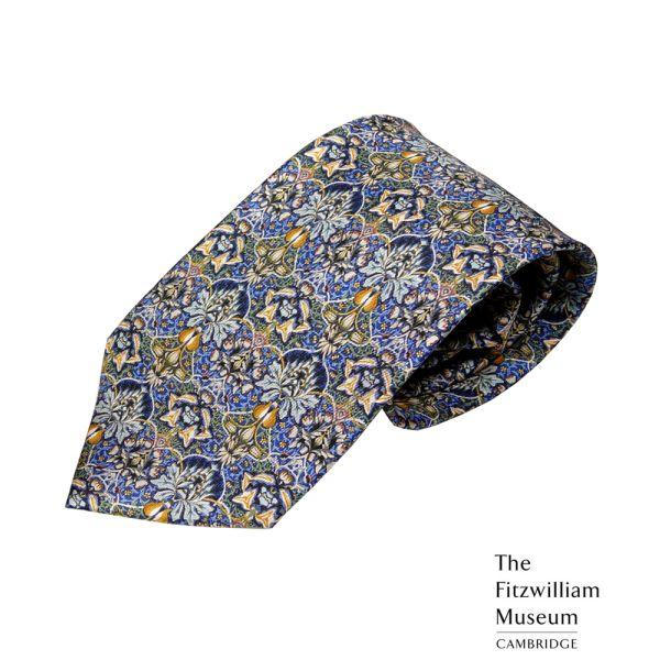 Morris Artichoke Silk Tie by Fox & Chave
