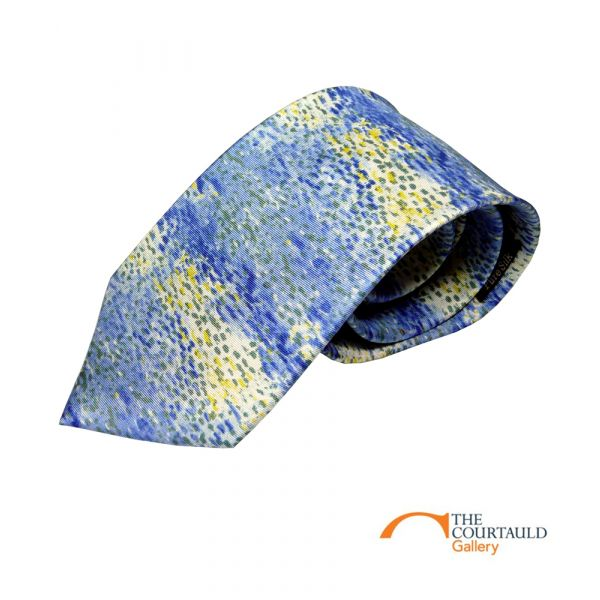Van Gogh Sky Silk Tie by Fox & Chave