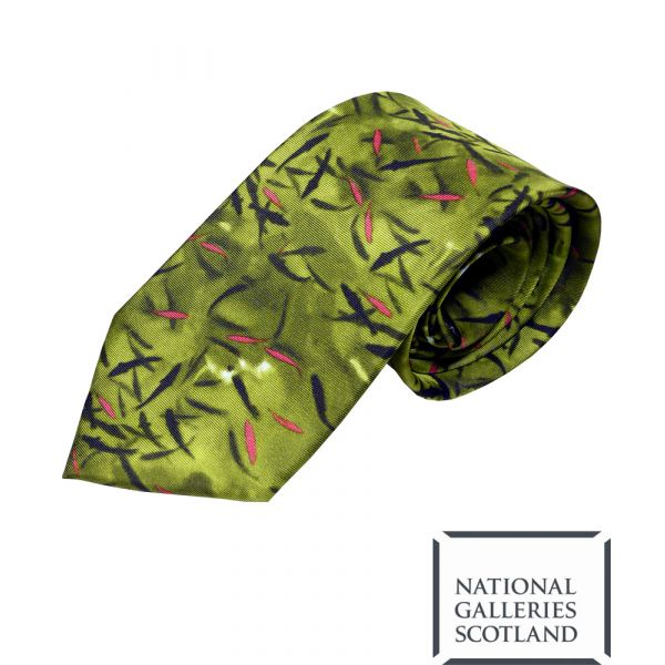 Blackadder Fish Silk Tie by Fox & Chave