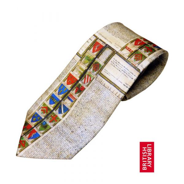 Magna Carta Tie from Fox and Chave