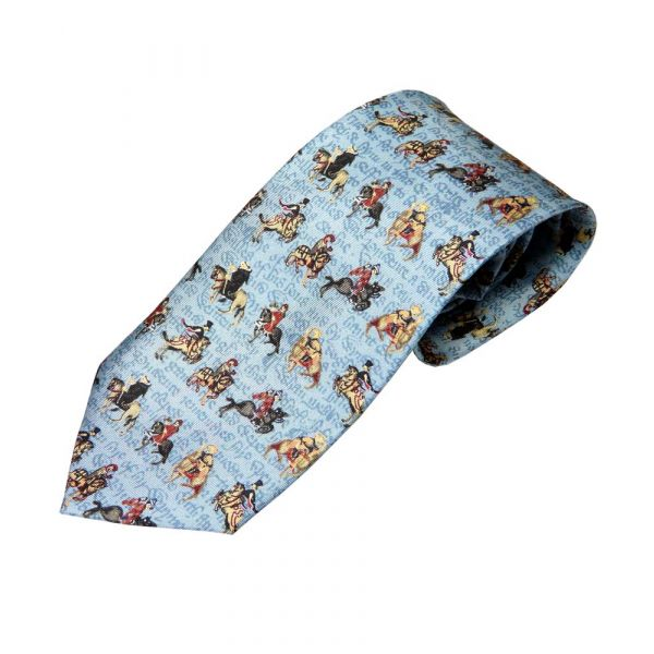 Canterbury Tales Tie from Fox and Chave