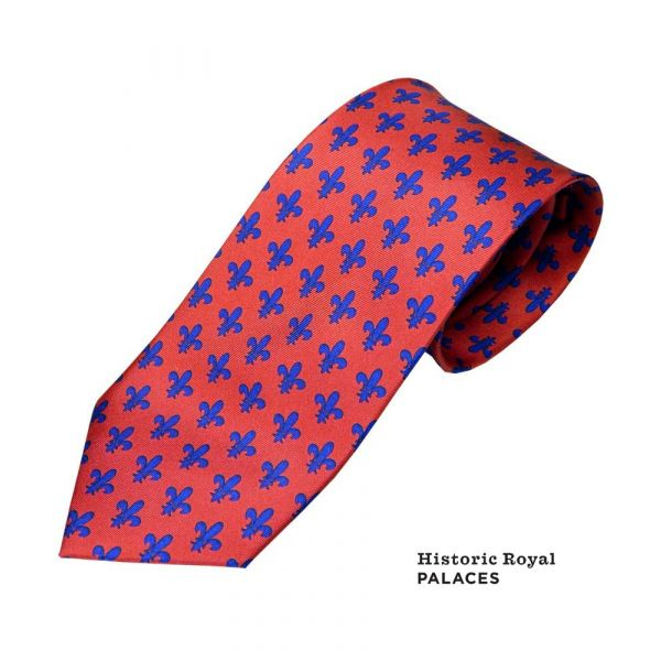 Fleur-de-Lis Tie from Fox and Chave