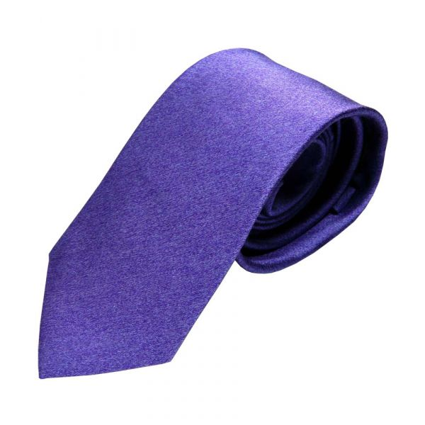 Purple Tonic Silk Tie from Van Buck