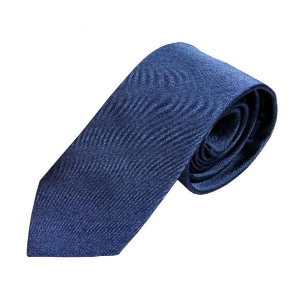Blue Tonic Silk Tie from Van Buck