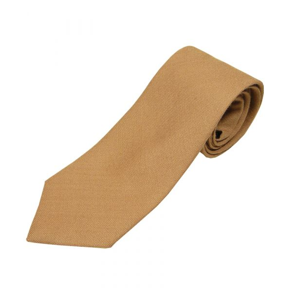 Mocca Wool Tie from Van Buck