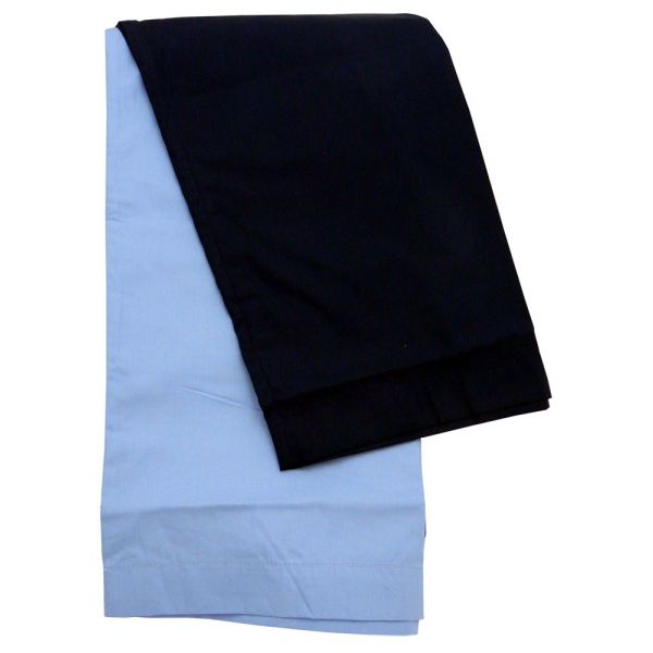 Pyjamas Trousers. Twin Pack 1 Blue and 1 Navy from Peter England