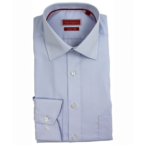 Light Blue Cotton Shirt from Peter England