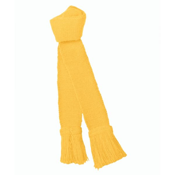 Garter - Shooting Sock Garter in Pollen Yellow from Pennine Socks