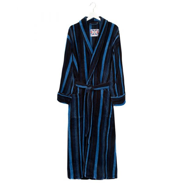 The Salcombe. Velour Gown from Bown of London.