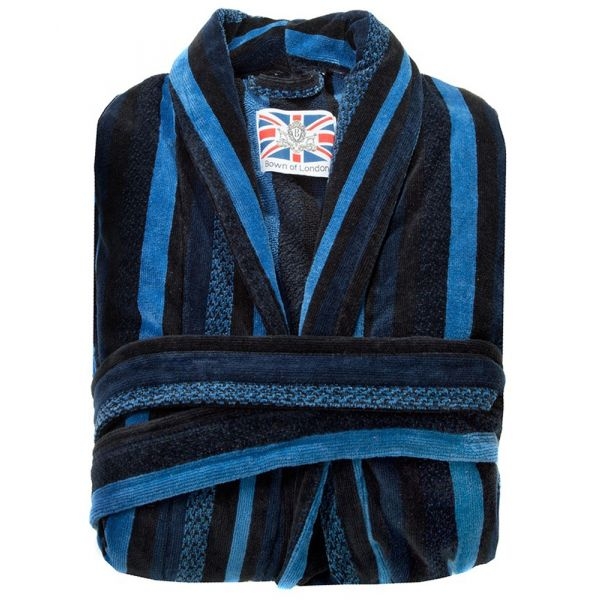 The Salcombe. Boys Luxury Dressing Gown from Bown of London