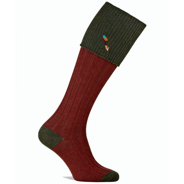 Dartmoor Shooting Sock from Pennine Socks