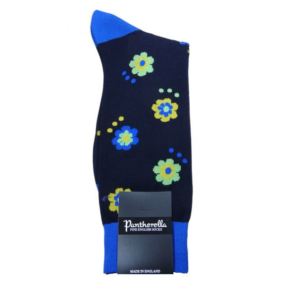 Festival Design Cotton Socks from Pantherella - Sale