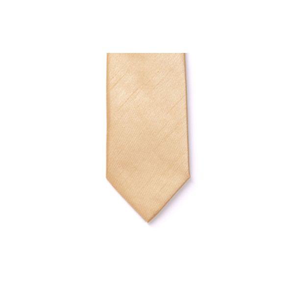 Straw Polyester Shantung Men's Tie