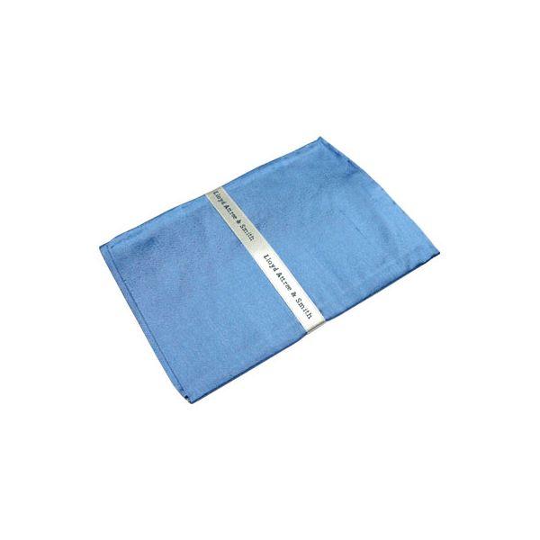 Lt Blue Shantung Silk Handkerchief