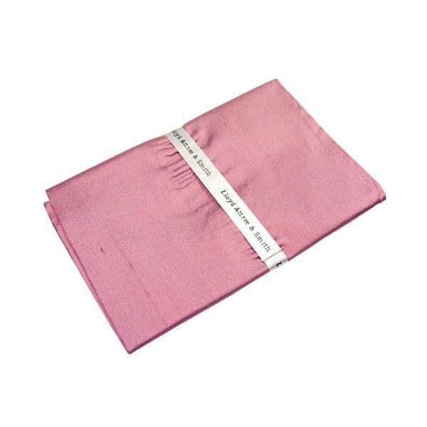 Pink Shantung Silk Handkerchief