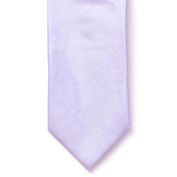 Lilac Shantung Silk Tie