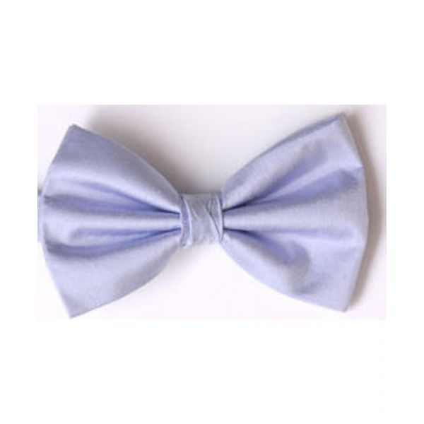 Lilac Shantung Silk Pre Tied Bow Tie