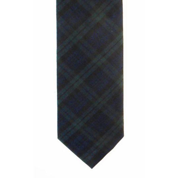 Blackwatch Tartan Silk Tie