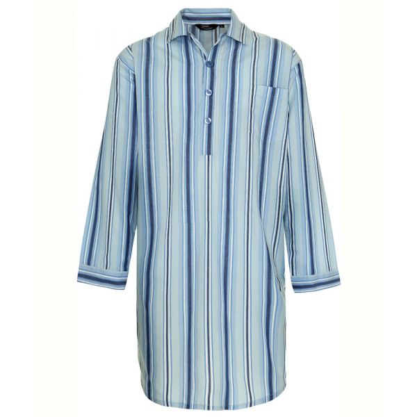 Westminster. Light Blue Easycare Nightshirt from Champion