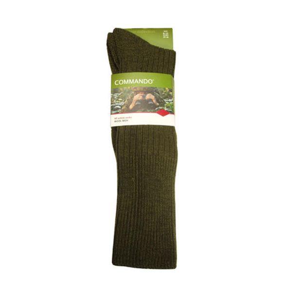 Olive Commando Socks