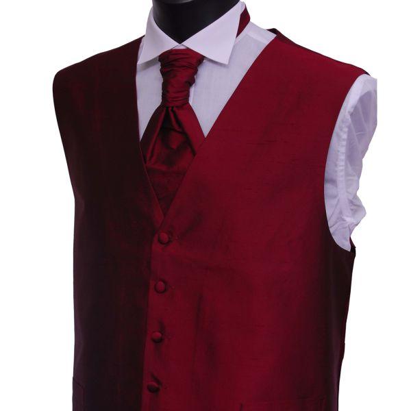Wine Boys Silk Waistcoat