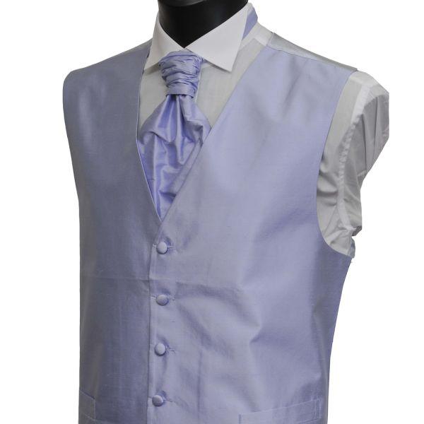 Lilac Boys Silk Waistcoat