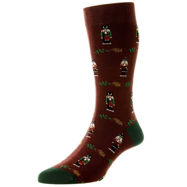Scott Nichol Socks - Mens -  Christmas Nutcracker - Cotton