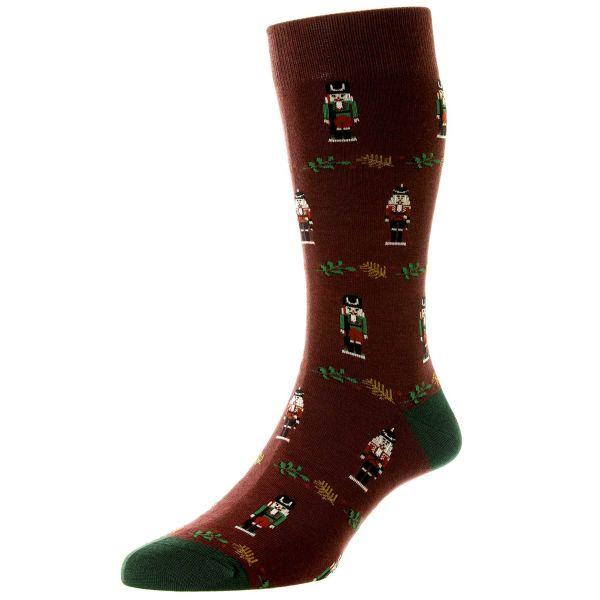 Scott Nichol Socks - Mens -  Christmas Nutcracker - Cotton