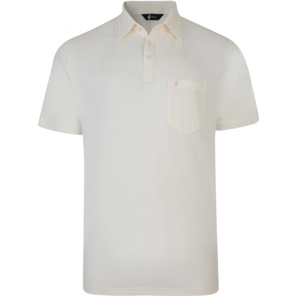Classic Cream Gabicci Polo Shirt