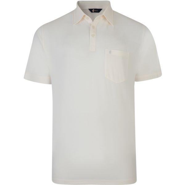 Classic Cream Gabicci Polo Shirt-S