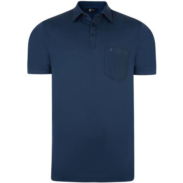 Classic Indigo Gabicci Polo Shirt-S