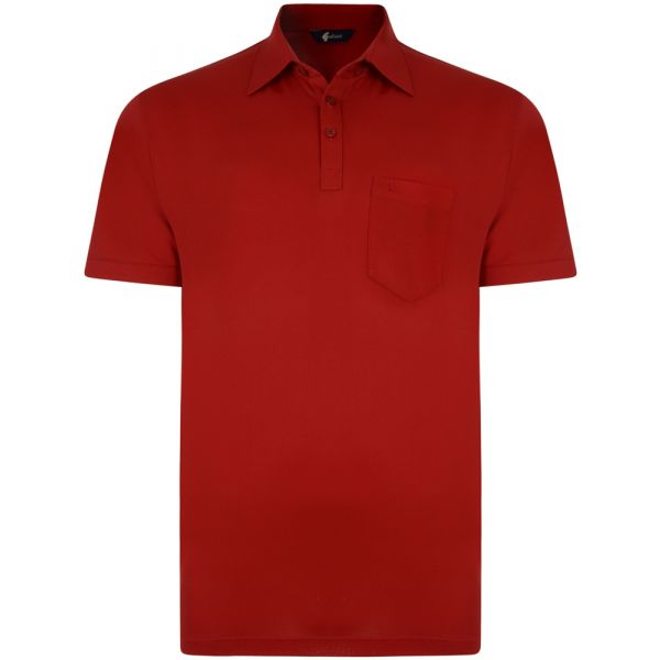 Classic Red Gabicci Polo Shirt-S