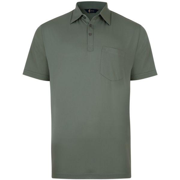 Classic Sage Green Gabicci Polo Shirt