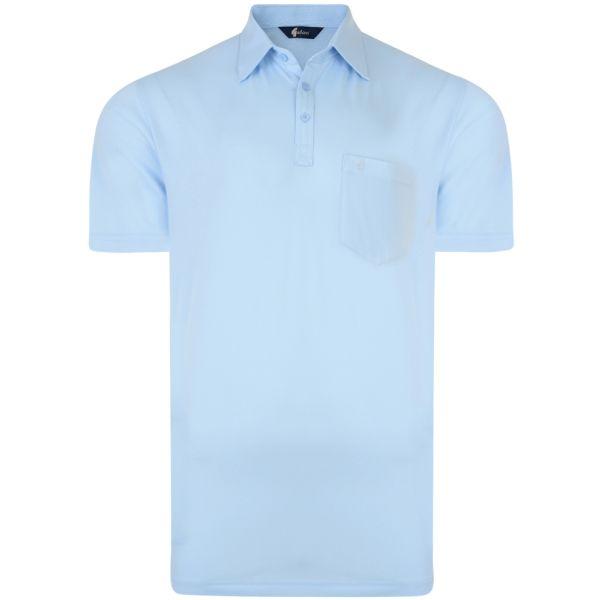 Classic Sky Blue Gabicci Polo Shirt