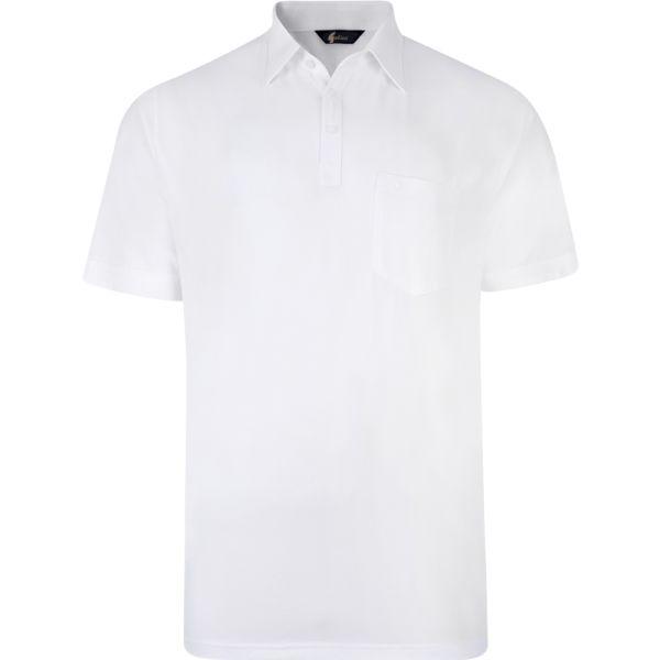 Classic White Gabicci Polo Shirt