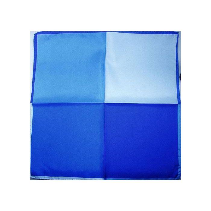 Silk Handkerchief four colour blue