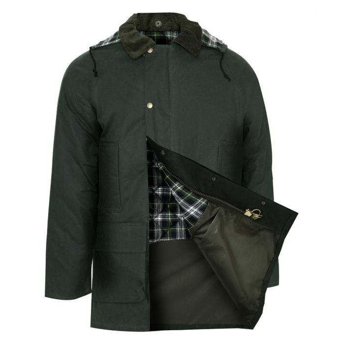 Howick - Olive Waxed Jacket from Champion