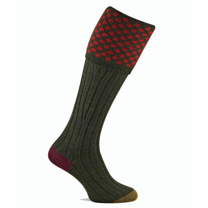 Pennine Socks - Viceroy Merino Wool Shooting Sock